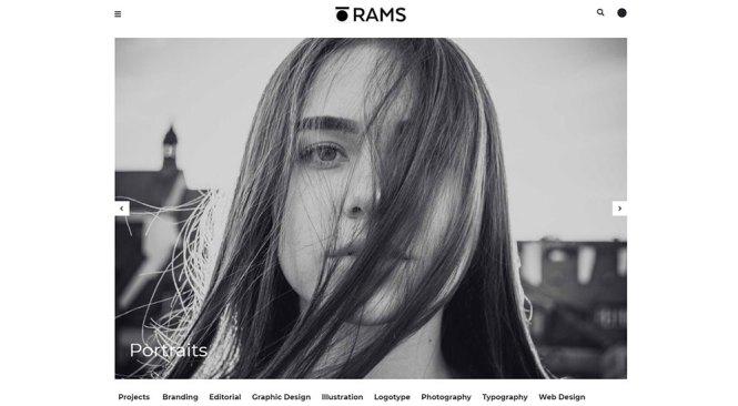 RAMS WordPress Thème