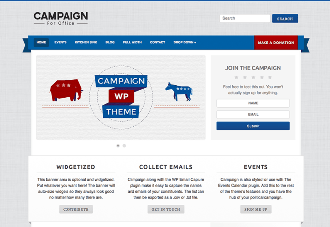 campagne-charité-wordpress-thème