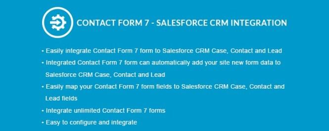 Formulaire de contact 7 - Intégration CRM Premium Salesforce