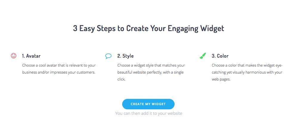 5. Acobot Create Your Widget