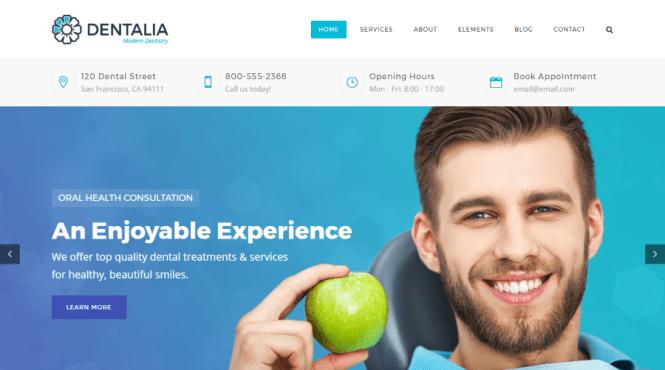 Thème WordPress Dentalia Dental