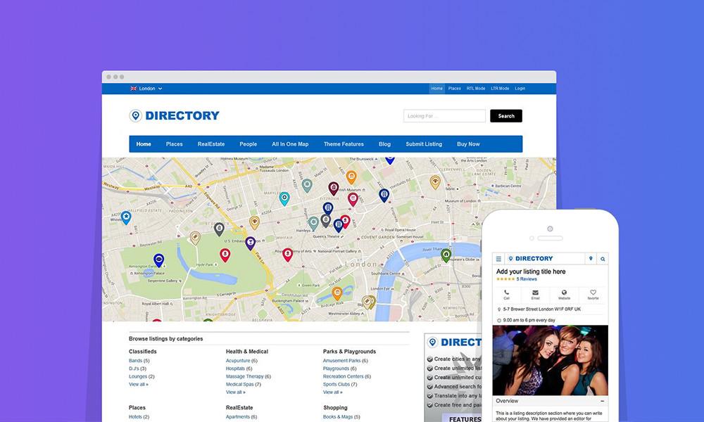 Directory WordPress Theme: Best Directory WordPress Themes