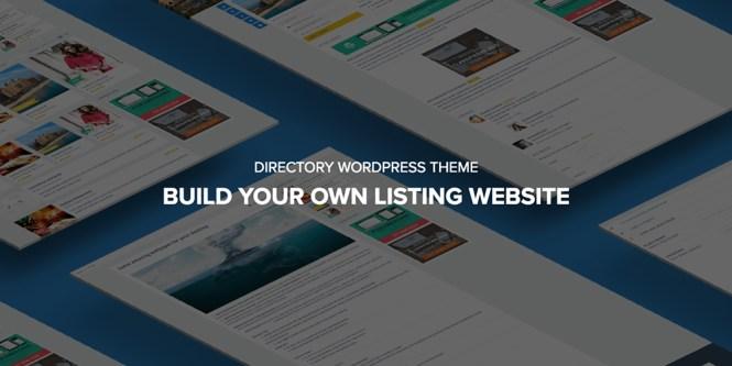 DirectoryEngine Flexible Directory Thème WordPress
