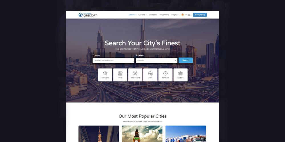 Directory Multipurpose WordPress Theme