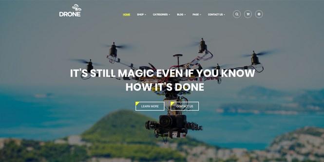 Drone - Thème WordPress pour produit unique