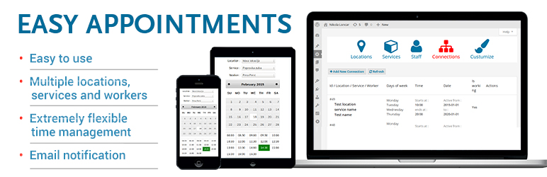 Easy Appointments Free WordPress Plugin