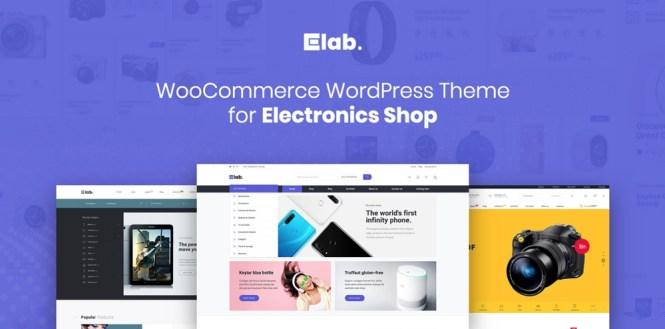 eLab - Electronics Shop Thème WordPress