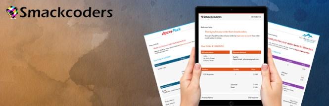 Concepteur visuel de courrier électronique pour WooCommerce