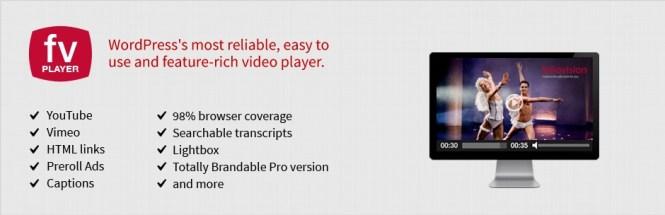 Lecteur vidéo FV Flowplayer