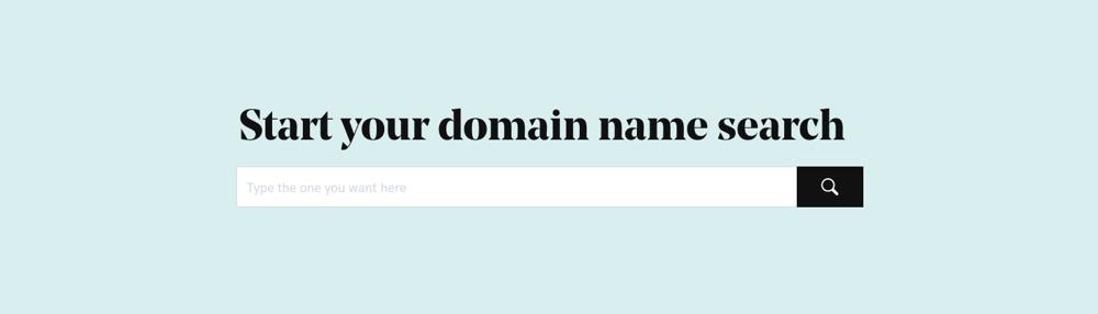 GoDaddy Поиск доменного имени