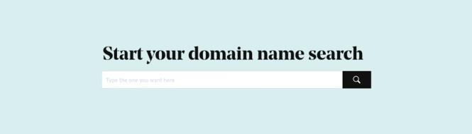 Recherche de nom de domaine GoDaddy