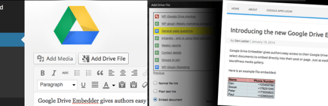 Intégreur Google Drive