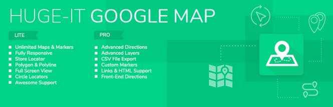 Meilleurs plug-ins de cartographie: plug-in gratuit de Google Maps Builder