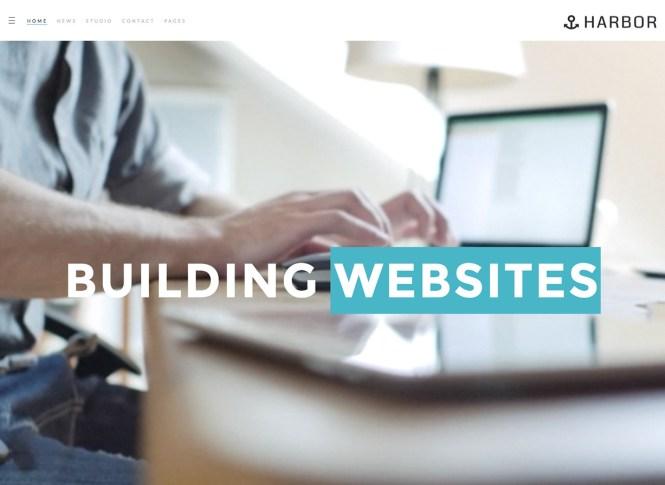Thème WordPress Harbour Business