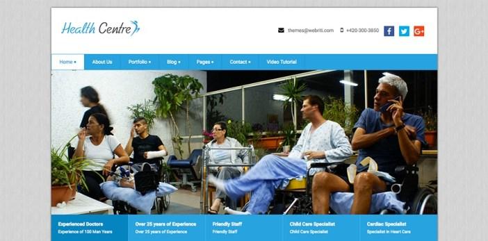 Tema de WordPress para centros de salud