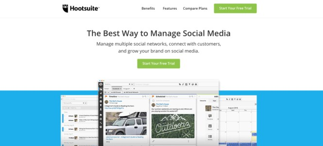 Hootsuite Social Manager