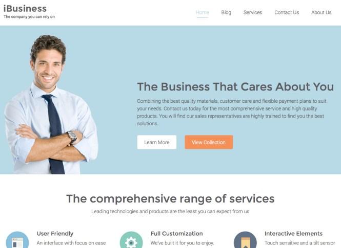 Thème WordPress iBusiness