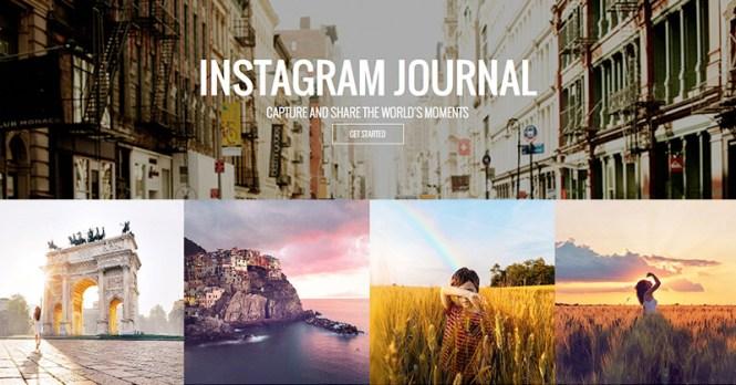 Journal photo Instagram