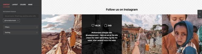 Plugin de flux Instagram InstaShow pour WordPress