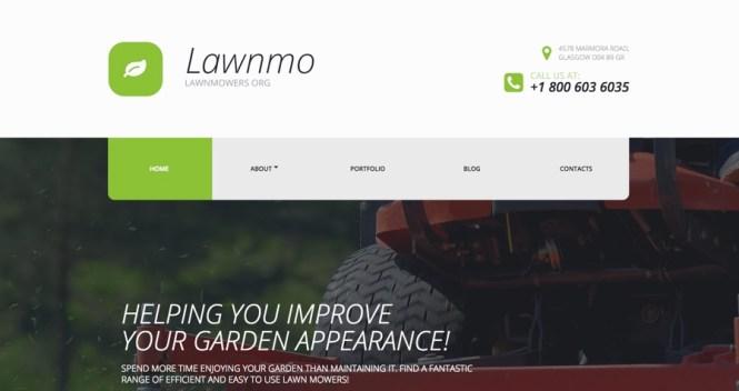 Lawnmo WordPress Thème