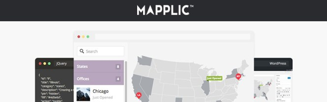 Meilleurs plugins de mappage: Mapplic Custom Interactive Maps