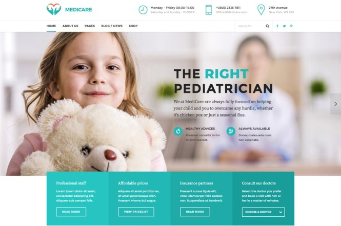 Medicare - Médecin, Thème Santé et Santé