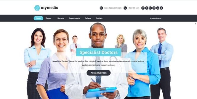Thème WordPress MyMedic
