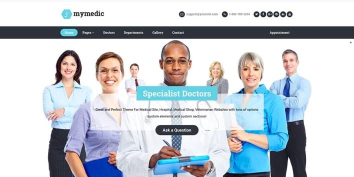 Tema de WordPress MyMedic