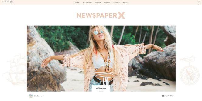Thème WordPress pour journaux, blogs et magazines, etc.