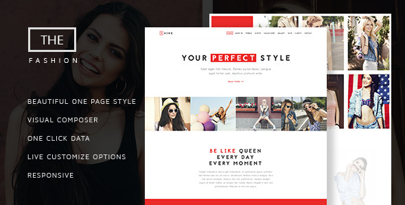 Thème NRG Fashion & Model Agency