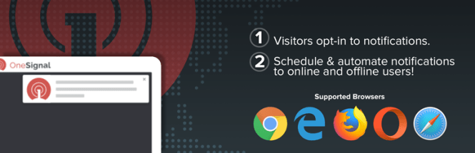 OneSignal Free Web Push Notifications Plugin