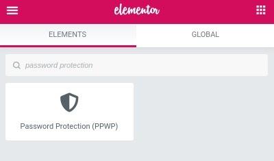 PPWP Elementor Widget