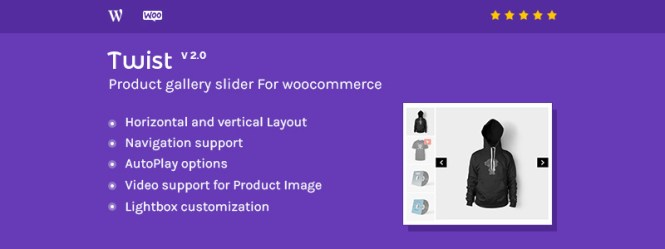 Product Gallery Slider for WooCommerce - Twist Premium Add-on