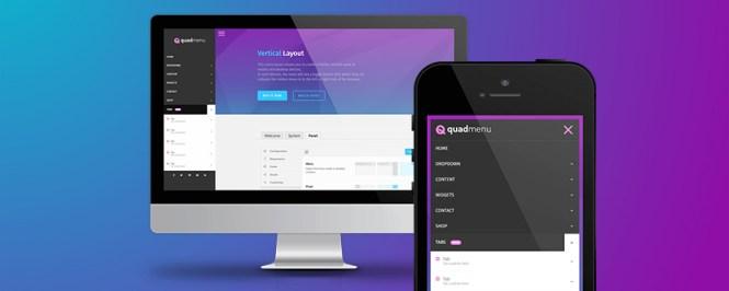 Plugin QuadMenu Premium WordPress Mega Menu