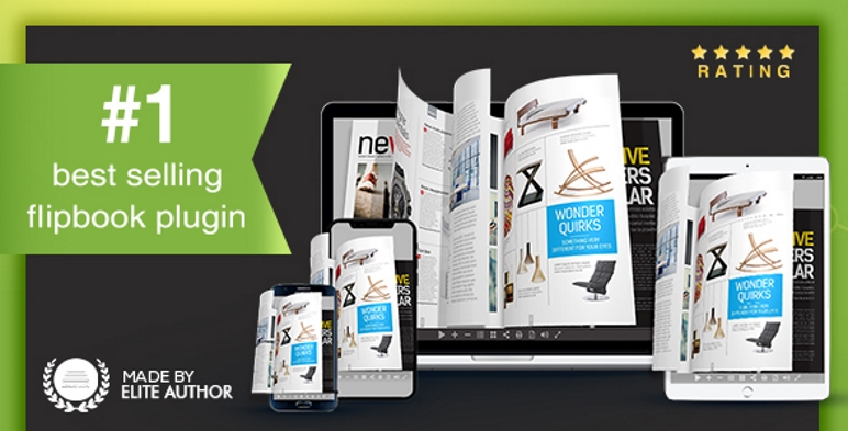 Real3D FlipBook WordPress Плагин