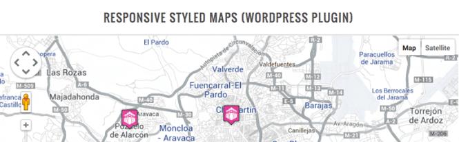 Meilleurs plugins de cartographie: Google Maps réactif