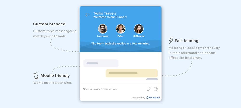 WordPress Helpdesk Plugins: Richpanel WooCommerce Live Chat