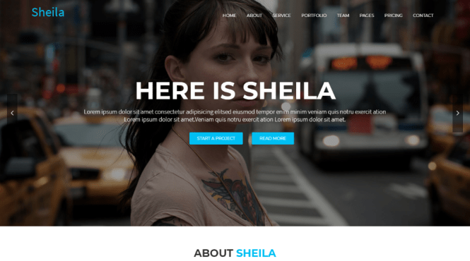 Sheila Material Design Agency Thème WordPress