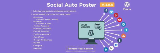Social Auto Poster - Plugin WordPress