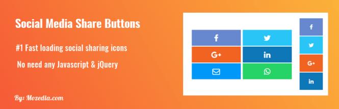 Plugin de boutons de partage de médias sociaux