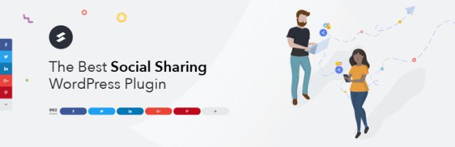 Social Snap Boutons de partage social et boîte à outils Plugin WordPress