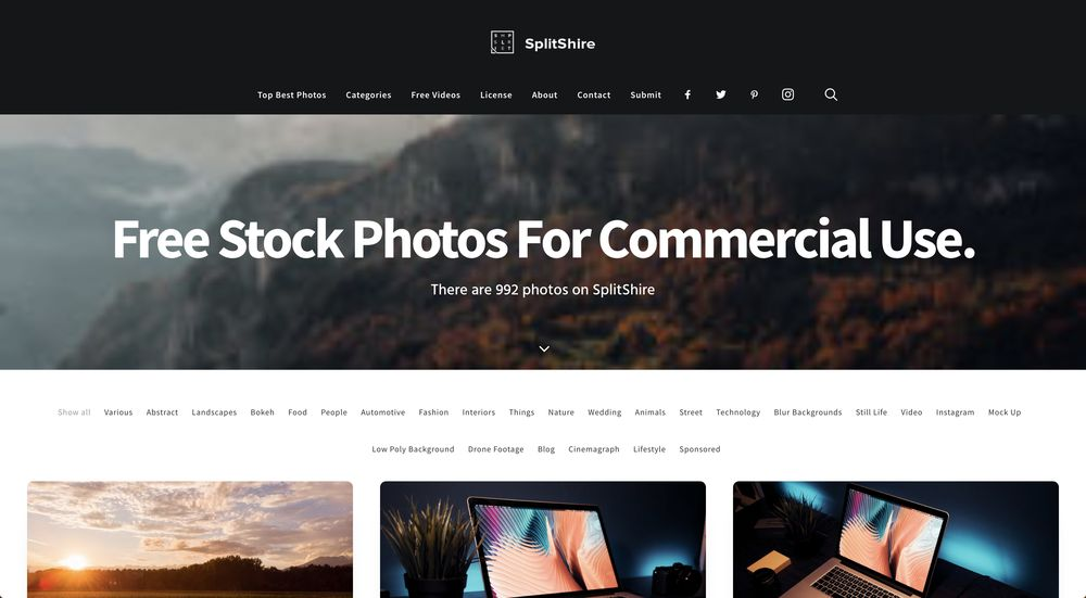 splitshare free high-resolution stock photos wpexplorer