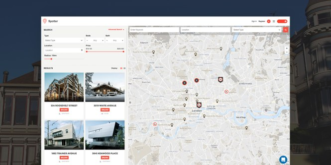 Spotter Universal Directory Listing Thème WordPress