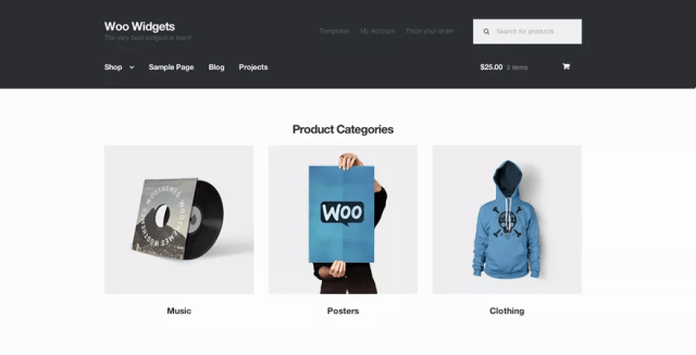 Storefront Free WordPress Theme