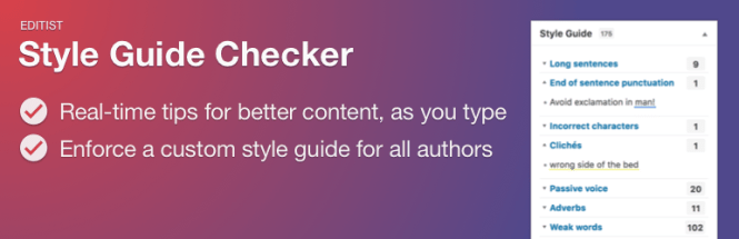 Guide de style Checker Plugin WordPress gratuit