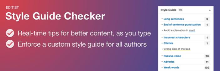 Guía de estilo Checker Free WordPress Plugin