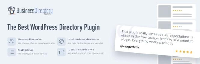 Télécharger le plugin Business Directory - Répertoires de référencement faciles pour WordPress
