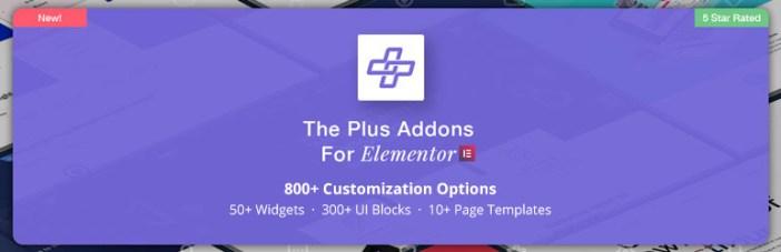 Los Addons Plus para Elementor