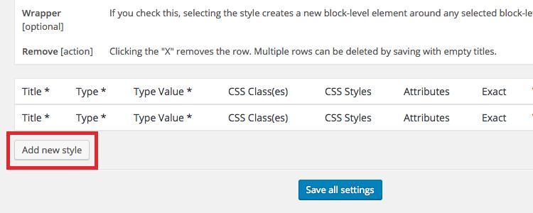 How to Add Custom Styles to the Wordpress Visual Editor