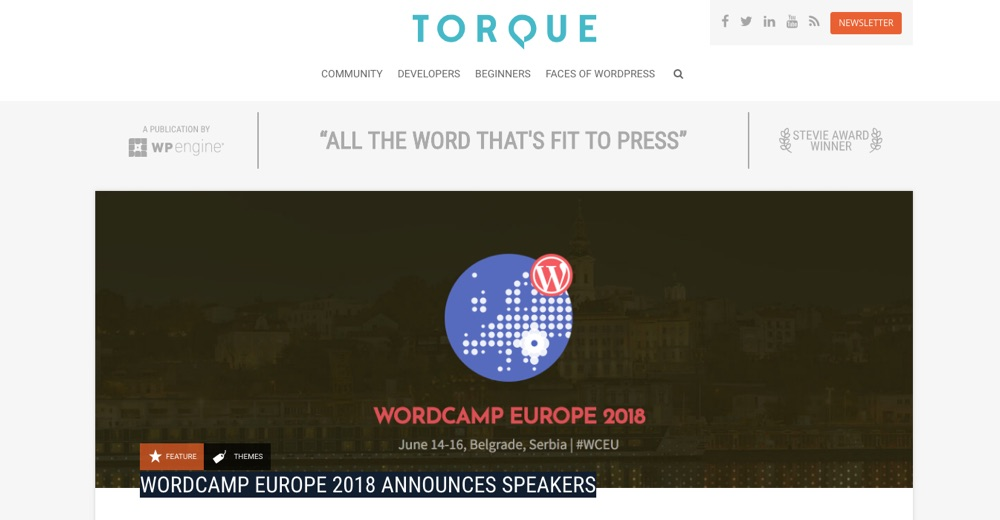 WordPress Blogs You Should Follow - Torque Mag
